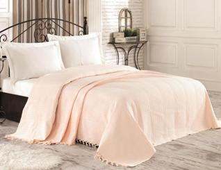 Покрывало пике 220х240 DIVA Cotton Almond